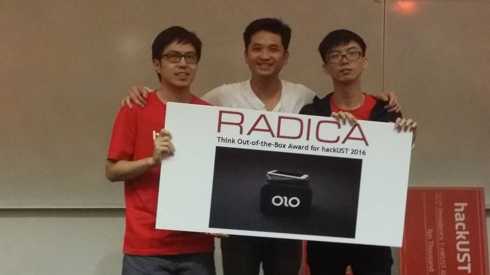 Think Out of The Box Award from Radica